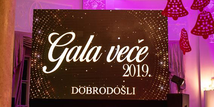 Camera di Commercio Italo-Serba gala night 2019