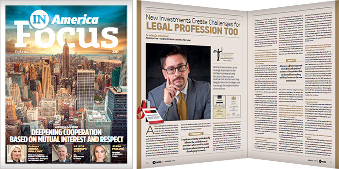 In Focus America magazine: Nebojsa Stankovic PhD interview
